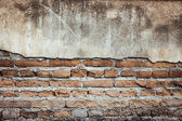 Brick grunge wall background and texture — Foto de Stock