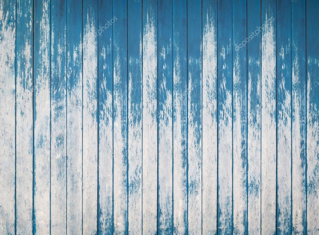 Blue Wood Texture Of Rough Fence Boards Background Stock