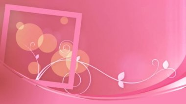 Pink decor background — Wideo stockowe