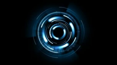 Moving circles — Stock Video