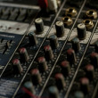 Stock Photo: Analog soundboard