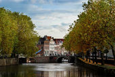 The Netherlands water canal — Stock Photo