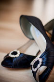 Luxury wedding shoes — Foto Stock