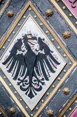 Vintage eagle symbol, ornament — Stock Photo