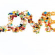 Colorful LOVE sign — Stock Photo #33934975