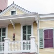 Traditional balcony, New Orleans, Lousiana — Stockfoto