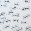 English vocabulary — Stock Photo