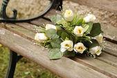 White bouquet — Stock Photo