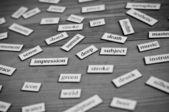 Nauka języka angielskiego. — Zdjęcie stockowe