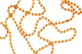 Orange beads — Stock Photo