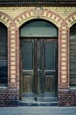 Oude grunge deur — Stockfoto