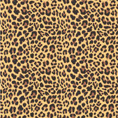 Leopard seamless pattern design, vector illustration background — Stock Vector
