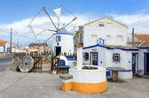 Old mill in European village — Stock Photo