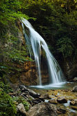 Waterfall in the Crimean mountains — Stock Photo