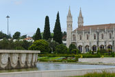 Jeronimos Monastery in Lisbon — Stock Photo