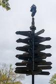 Signpost — Stock Photo