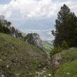 View from highest mountain. Alpes, France — Stock Photo #37239973