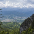 View from highest mountain. Alpes, France — Stock Photo #37239999