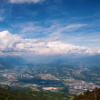 View from highest mountain. Alps, France — Stock Photo #37254409