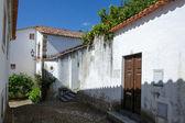 European village. Narrow streets of Obidos, Portugal — Stock Photo