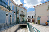 European village. Streets in Obidos, Portugal — Stock Photo