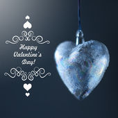 Happy Valentines Day Card Design — Foto Stock