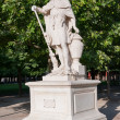 Постер, плакат: Statue of Hannibal in the park Paris France