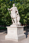 Statue of Hannibal in the park. Paris, France — Stock fotografie