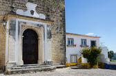 European village. Streets of Obidos, Portugal — Foto Stock