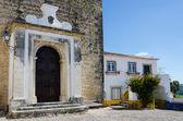 European village. Streets of Obidos, Portugal — 图库照片