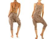 ヒョウのズボンをハーレム — ストック写真