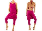 Pink Harem Pants — Stock Photo