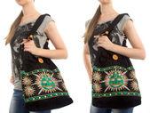 стильный индийский сумочка — Стоковое фото