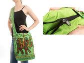 Stylish Indian Handbag — Stock Photo