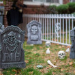 Outdoor Halloween Decoration — Stock Photo