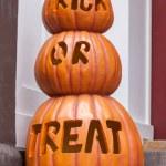 Trick or Treat Pumpkins — Stock Photo #33682127