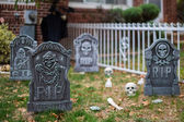 Outdoor Halloween Decoration — Stockfoto