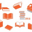 Book icons set — Stock Vector #41136461