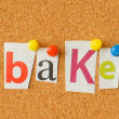 Bake — Stock Photo