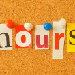 Hours — Stock Photo