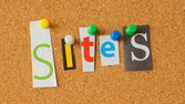 Sites — Stock Photo
