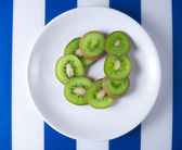 Čerstvé kiwi — Stock fotografie