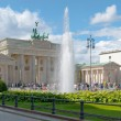 BERLIN, GERMANY  The Brandenburg Gate — Stock Photo