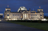 Building of the Bundestag in Berlin — Stock Photo