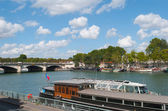 Paris. Seine river side. — Foto Stock