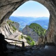 Cave in the mountains — Stock Photo