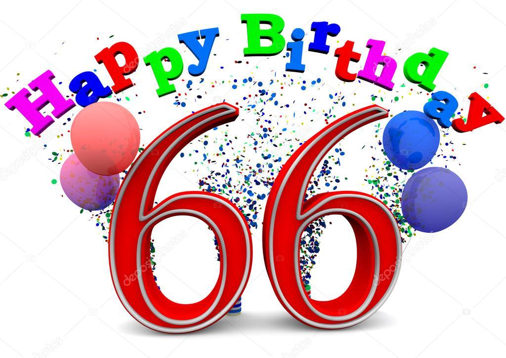Поздравление с днём рождения женщине 66 лет своими словами от души