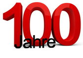 100 Jahre — Stock Photo