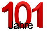 101 Jahre — Stock Photo