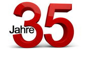 35 Jahre — Stock Photo